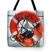 Escape To The Sea Tote Bag