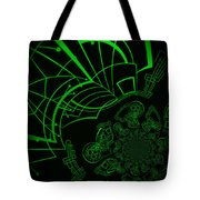Escaping The Matrix Tote Bag