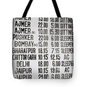 The Joy Of Travel Tote Bag