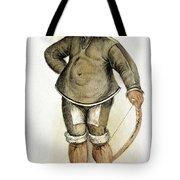 Eskimo Man Tote Bag
