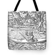 Eskimos Hunting, 1580 Tote Bag