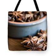 Essence Of Aniseed Tote Bag by Anne Gilbert