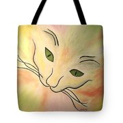 Essence Of Cat Tote Bag