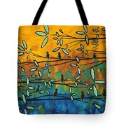 Essence Of Life By Madart Tote Bag