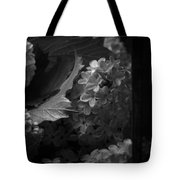 Essence Of My Soul In Black And White Tote Bag