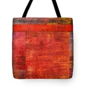 Essence Of Red Tote Bag by Michelle Calkins