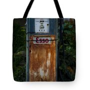 Esso Gas Pump Tote Bag