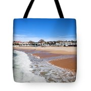 Estoril Beach In Portugal Tote Bag