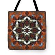 Estuary Sunrise Mandala Tote Bag