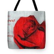 Eternal Valentine Tote Bag