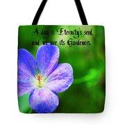 Eternity's Seed Tote Bag