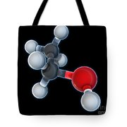 Ethanol Molecular Model Tote Bag