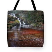 Ethereal Autumn Square Tote Bag