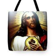 Ethereal Jesus Tote Bag