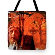 Ethereal Red Tote Bag