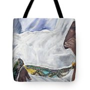 Ethiopian Orthodox Jewish Woman Tote Bag