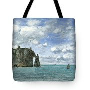 Etretat. The Cliff Of Aval Tote Bag