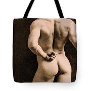 Eugen Sandow Tote Bag by Napoleon Sarony