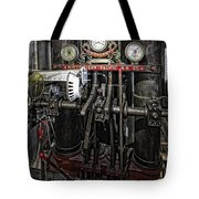 Eureka Ferry Steam Engine Controls - San Francisco Tote Bag