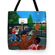Eureka Park Throwback Tote Bag by Edward Fuller