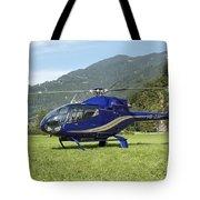 Eurocopter Ec130 Light Utility Tote Bag