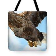 European Flying Sea Eagle 2 Tote Bag