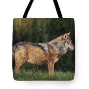 European Grey Wolf Tote Bag