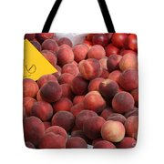 European Markets - Peaches And Nectarines Tote Bag