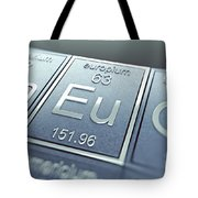 Europium Chemical Element Tote Bag