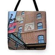 Eutaw Street Tote Bag by Susan Candelario