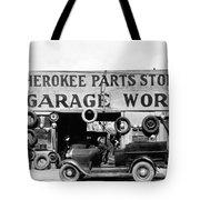 Evans Garage, 1936 Tote Bag