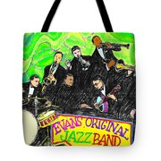 Evans Original Jazz Band Tote Bag