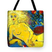 Eve/ Red Apple Of Temptation Tote Bag