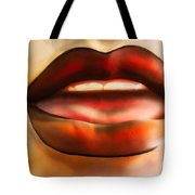 Even Hotter Lips Tote Bag