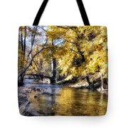 Even In The Quietest Moments Tote Bag