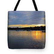 Evening Approaches Tote Bag