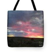 Evening Arizona Sky Tote Bag