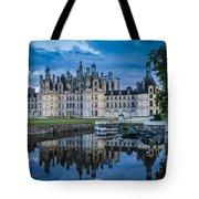 Evening At Chateau Chambord Tote Bag