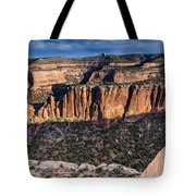 Evening At Colorado National Monument Tote Bag