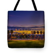 Evening At The Park Tote Bag