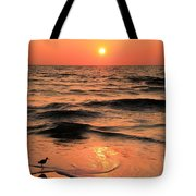 Evening Beach Stroll Tote Bag by Adam Jewell