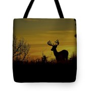 Evening Buck Tote Bag