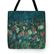 Evening Buds Tote Bag