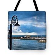Evening Calm At Lyme Regis Tote Bag