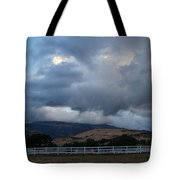 Evening Clouds Over Ashland Farm Country Tote Bag