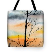 Evening Comes Tote Bag