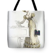 Evening Dress, Fashion Plate Tote Bag