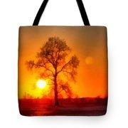 Evening Ember Sunset Tote Bag