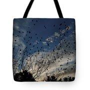 Evening Flock Tote Bag