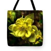Evening Floral Tote Bag